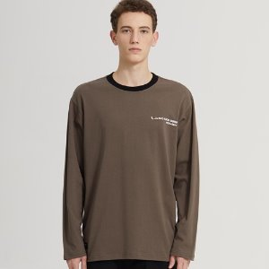 SEMI-OVER ADDRESS LOGO LONG SLV_CHARCOAL