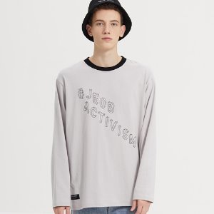 SEMI-OVER JB LOGO LONG SLV_GRAY